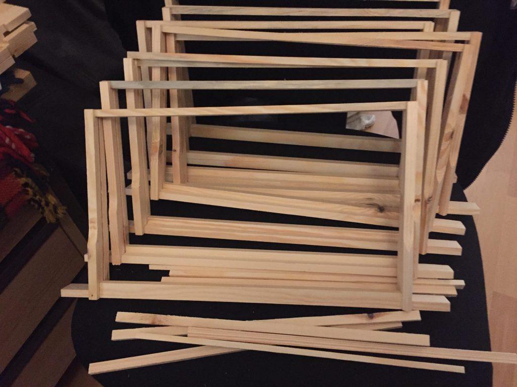 image showing DIY frame construction