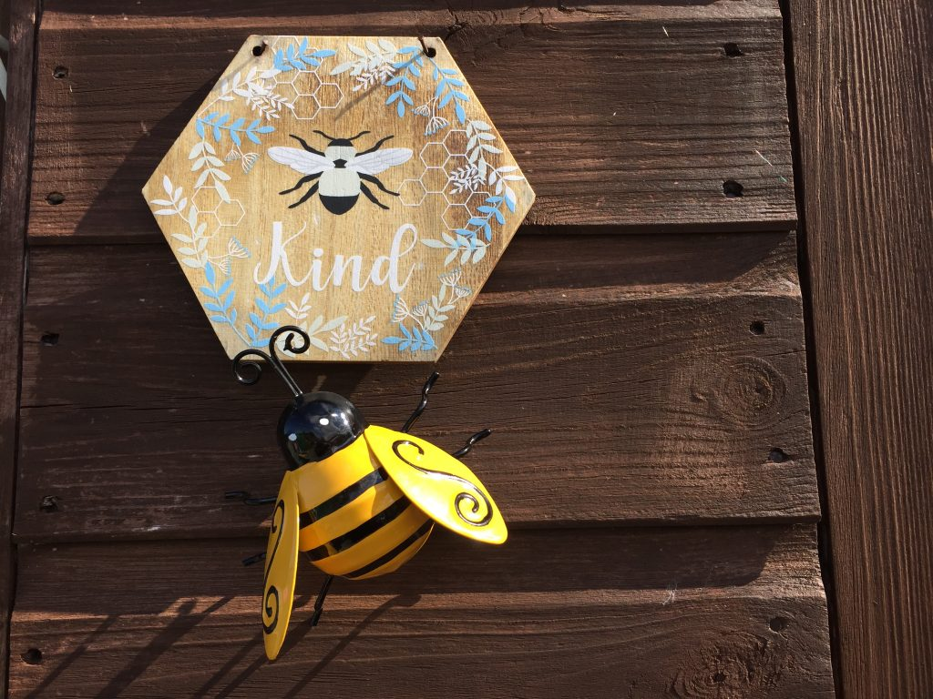 Image showing bee-related gifts from family and friends